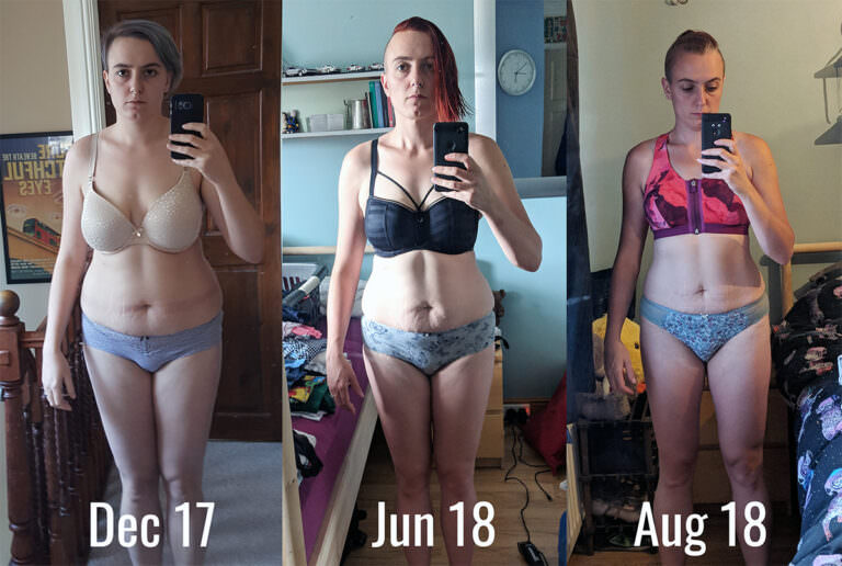 Weight loss over 7 month period