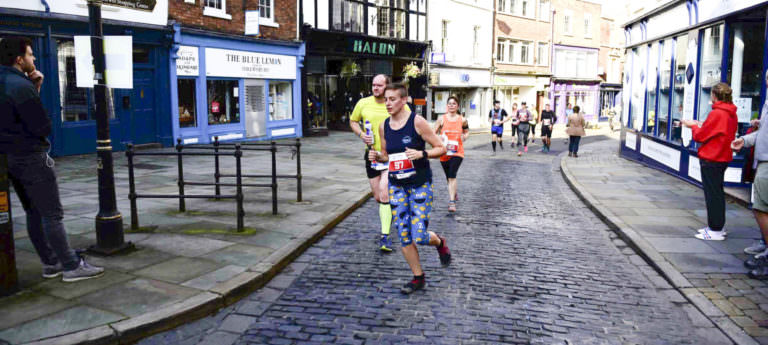 jem turner running through shrewsbury town